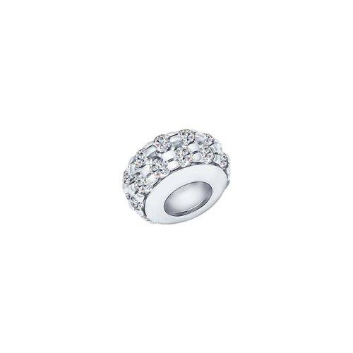 картинка подвеска-шарм из серебра с фианитами 94031619