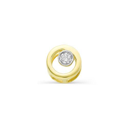 картинка подвеска 3644-300 1 бриллиант круг 57 0,038 25-30 3/6а 3644-300