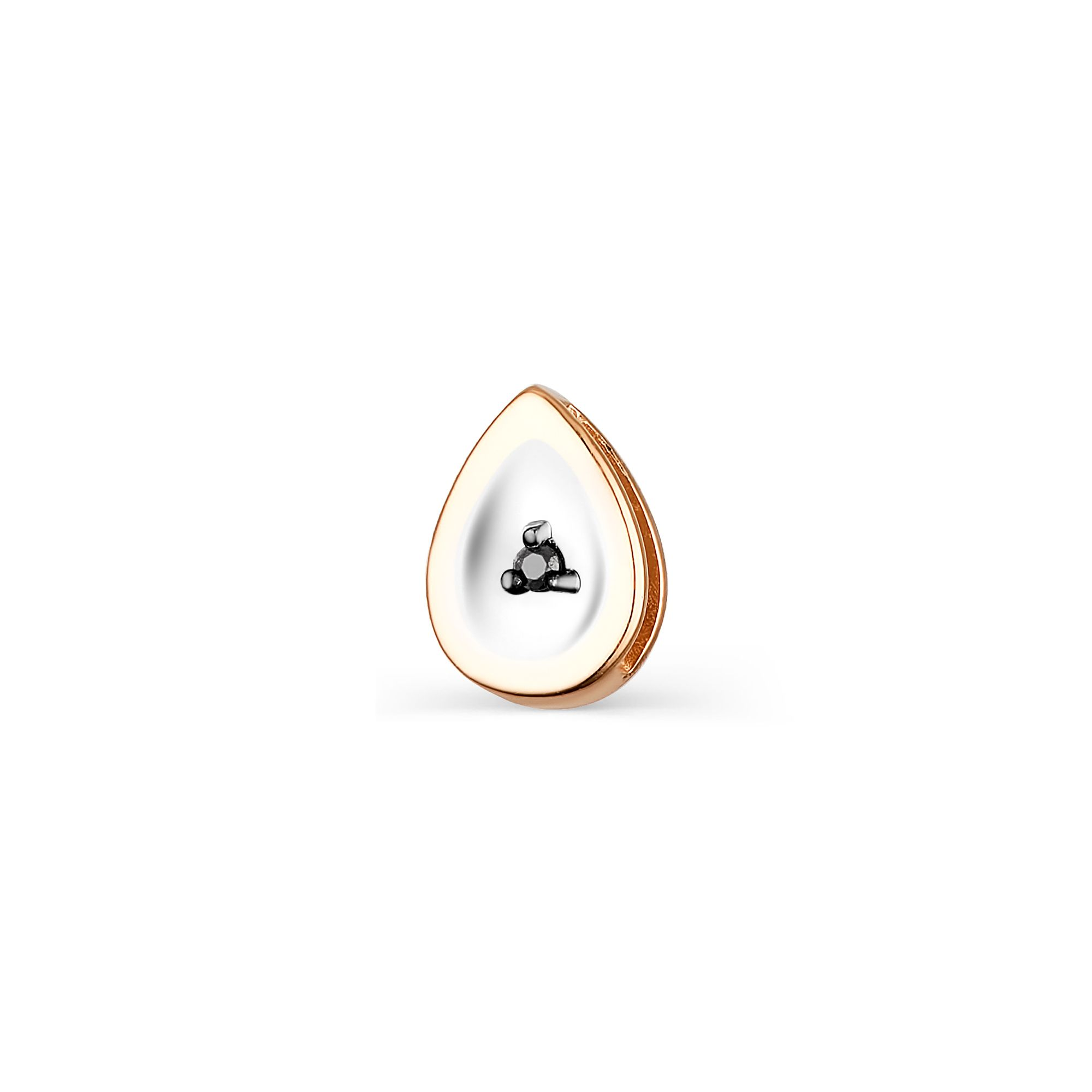 картинка подвеска 33772-113 1 бриллиант черный круг 57 0,004 200-400 7/9а 33772-113