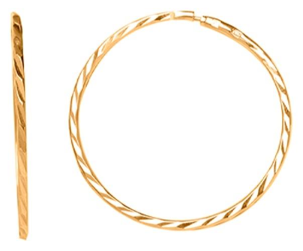 картинка серьги из золота 585° 20-449