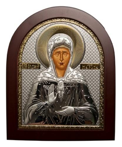 картинка икона из серебра 999° EK4EAG 007 Вла