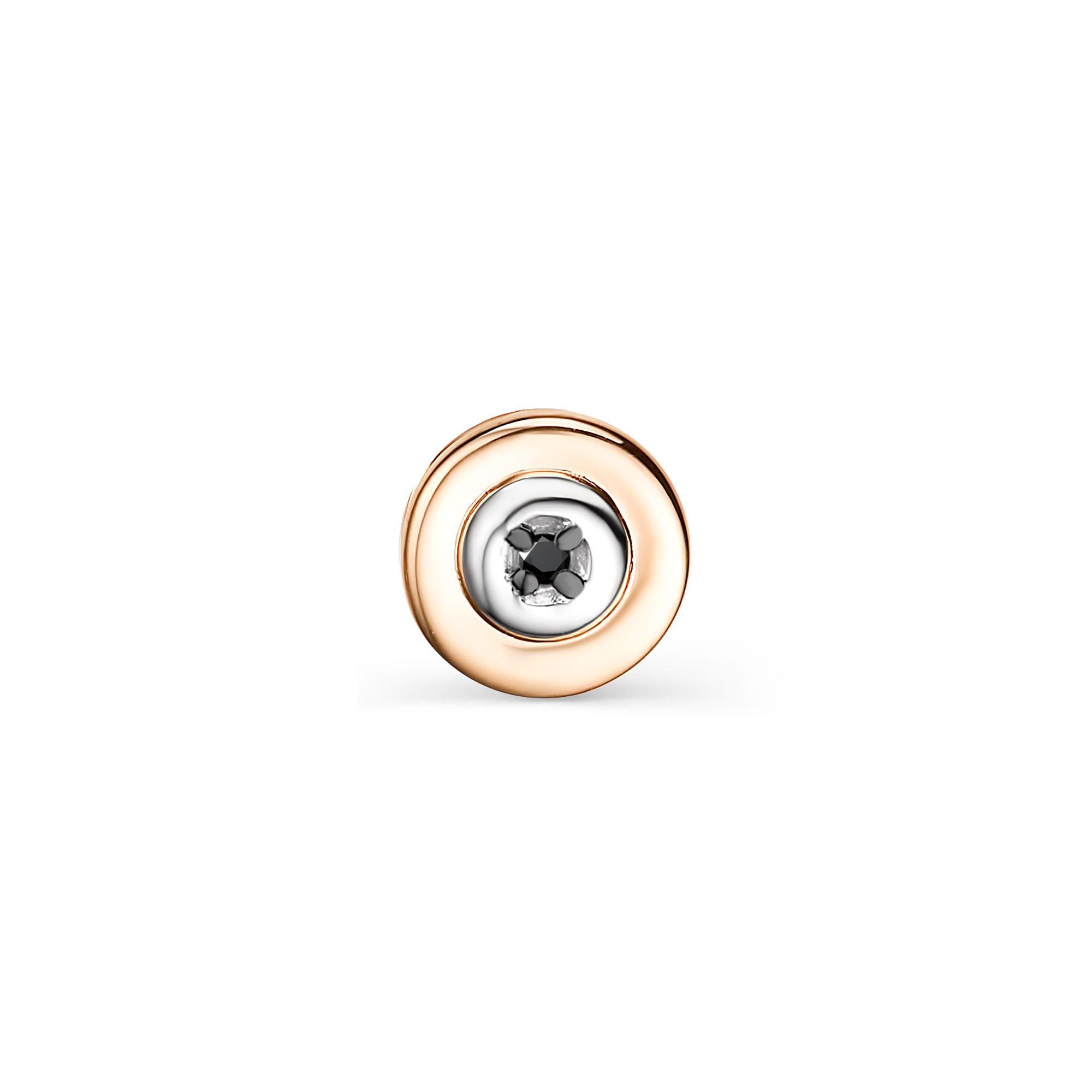 картинка подвеска 33774-113 1 бриллиант черный круг 57 0,004 200-400 7/9а 33774-113