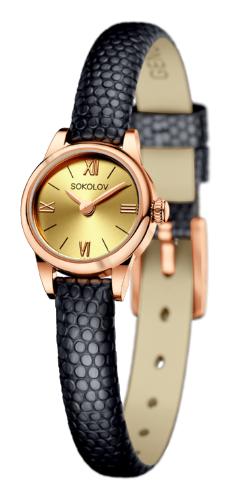 картинка ювелирные часы из золота 585° 111.01.00.000.02.01.3