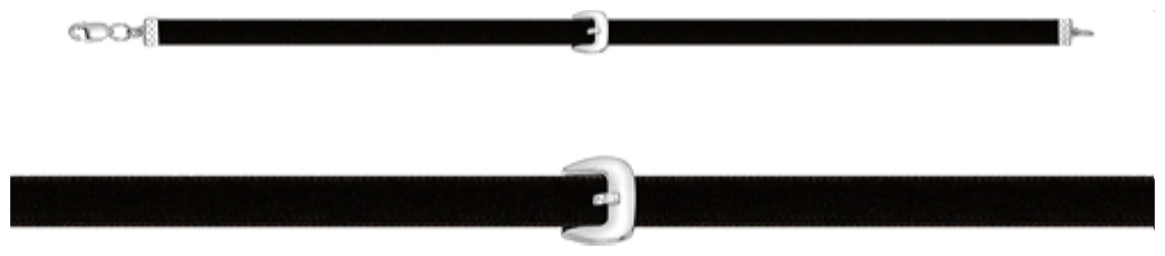 картинка колье из серебра 925° с070170