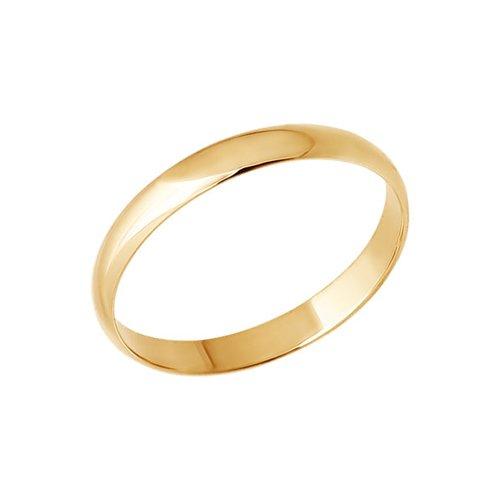 картинка классическое обручальное кольцо 110031
