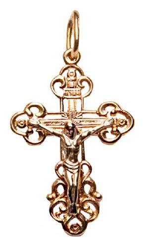 картинка подвеска из золота 585° 1060