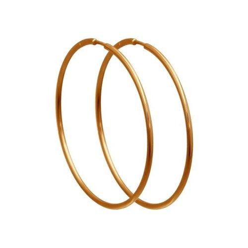 картинка серьги конго из золота 140001