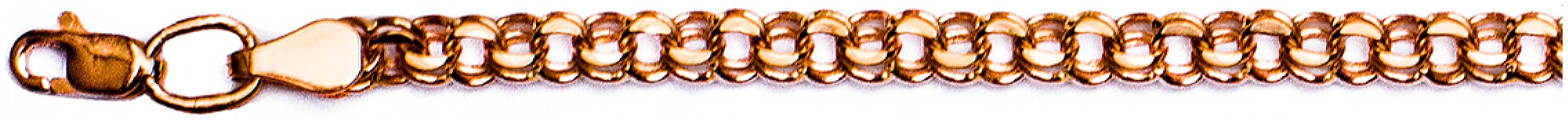 картинка браслет из золота 585° Бисмарк 060