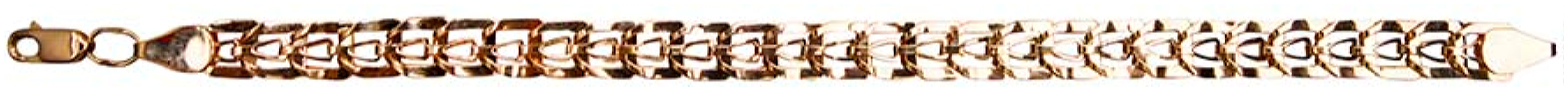 картинка браслет из золота 585° с топазом Б-012