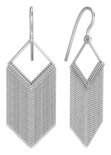 картинка серьги из серебра 925° 0221267-00245