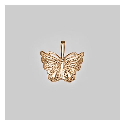 картинка подвеска из золота 585° с фианитом 03-2553-00-000-1110-48
