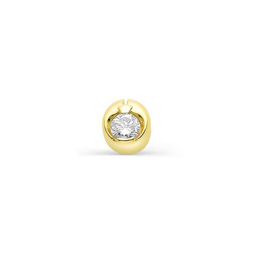 картинка подвеска 3619-300 1 бриллиант круг 57 0,120 7-10 4/5а 3619-300