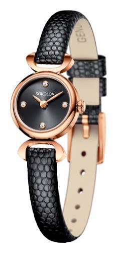 картинка ювелирные часы из золота 585° 112.01.00.000.03.01.3