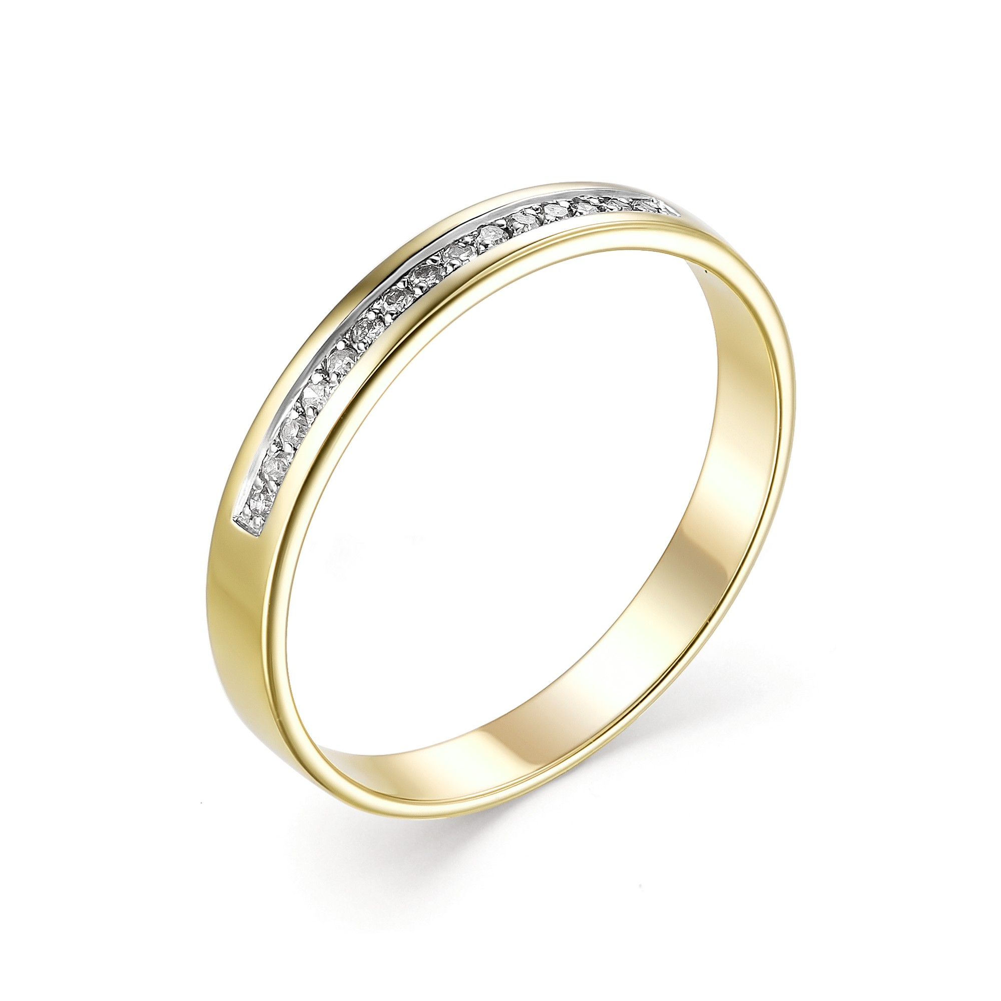 картинка кольцо 13235-300 15 бриллиант круг 17 0,068 200-400 2/3а 13235-300