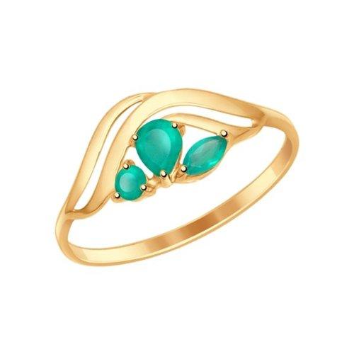 картинка кольцо из золота с агатами 714617