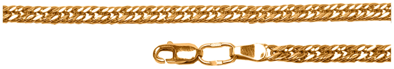 картинка цепь из золота 585° 31-01-0070-30076