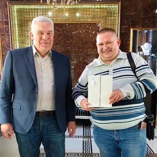 Поздравляем победителя розыгрыша iPad