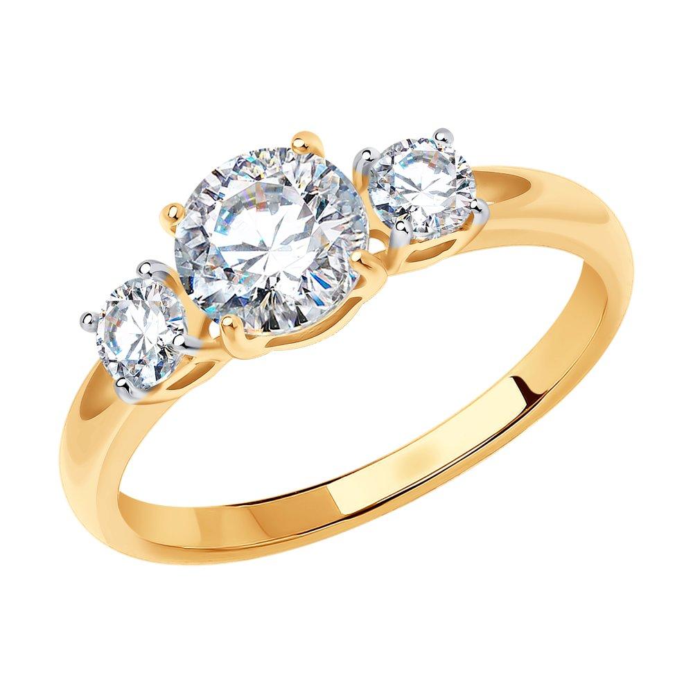 картинка помолвочное кольцо со swarovski zirconia 81010186