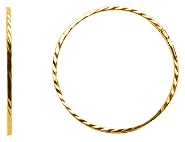 картинка серьги из золота 585° 20-465