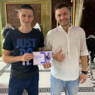 Поздравляем первого победителя акции «Идеальнаяпара»