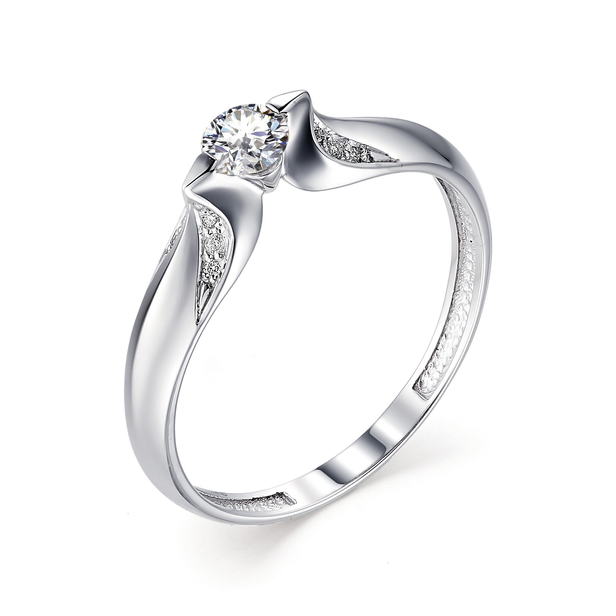 картинка кольцо 12673-200 1 бриллиант круг 57 0,238 4-5 3/7а, 12 бриллиант круг 57 0,029 200-400 3/6а 12673-200