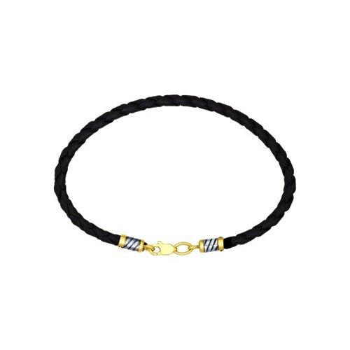 картинка шнур из золочёного серебра 95080002