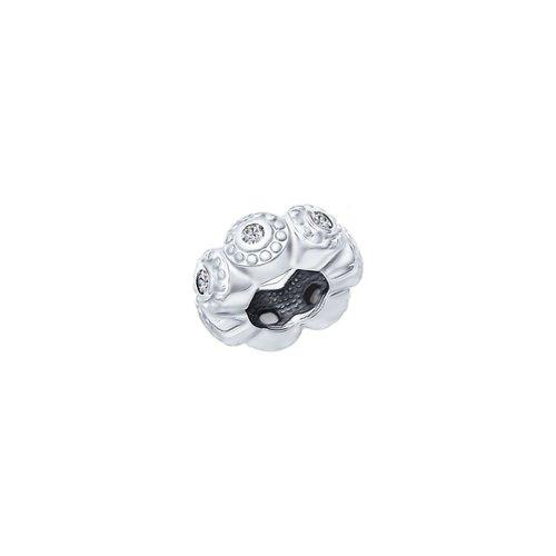 картинка подвеска-шарм из серебра с фианитами 94031585