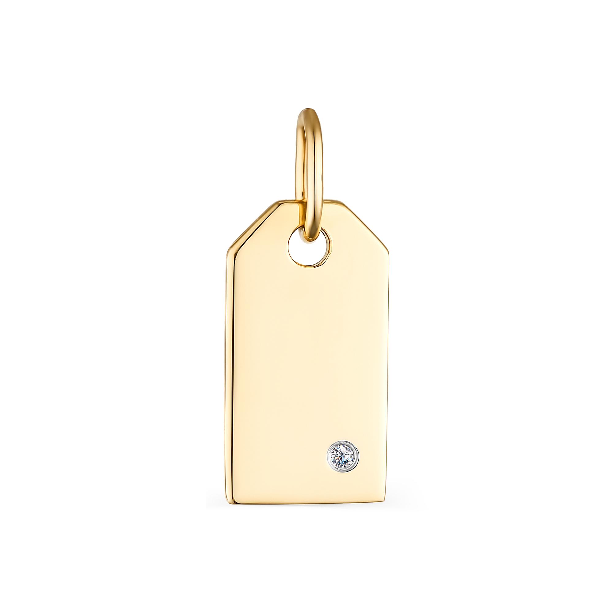 картинка подвеска 33723-300 1 бриллиант круг 57 0,007 120-200 4/5а 33723-300