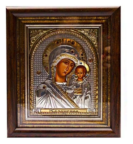картинка икона из серебра 925° ЕК399-004XAG-KZ