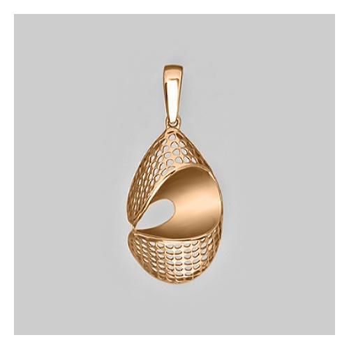 картинка подвеска из золота 585° 03-2552-00-000-1110-48