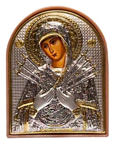 картинка икона из серебра 925° ЕК2ПАG 152
