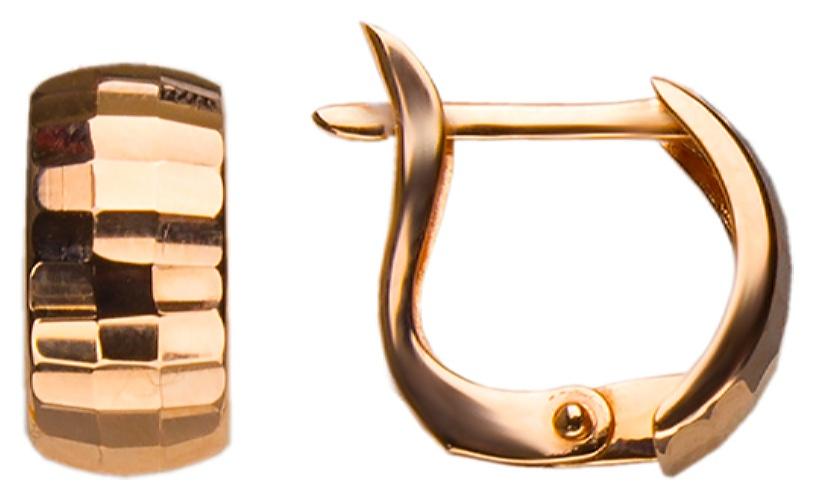 картинка серьги из золота 585° АС-271