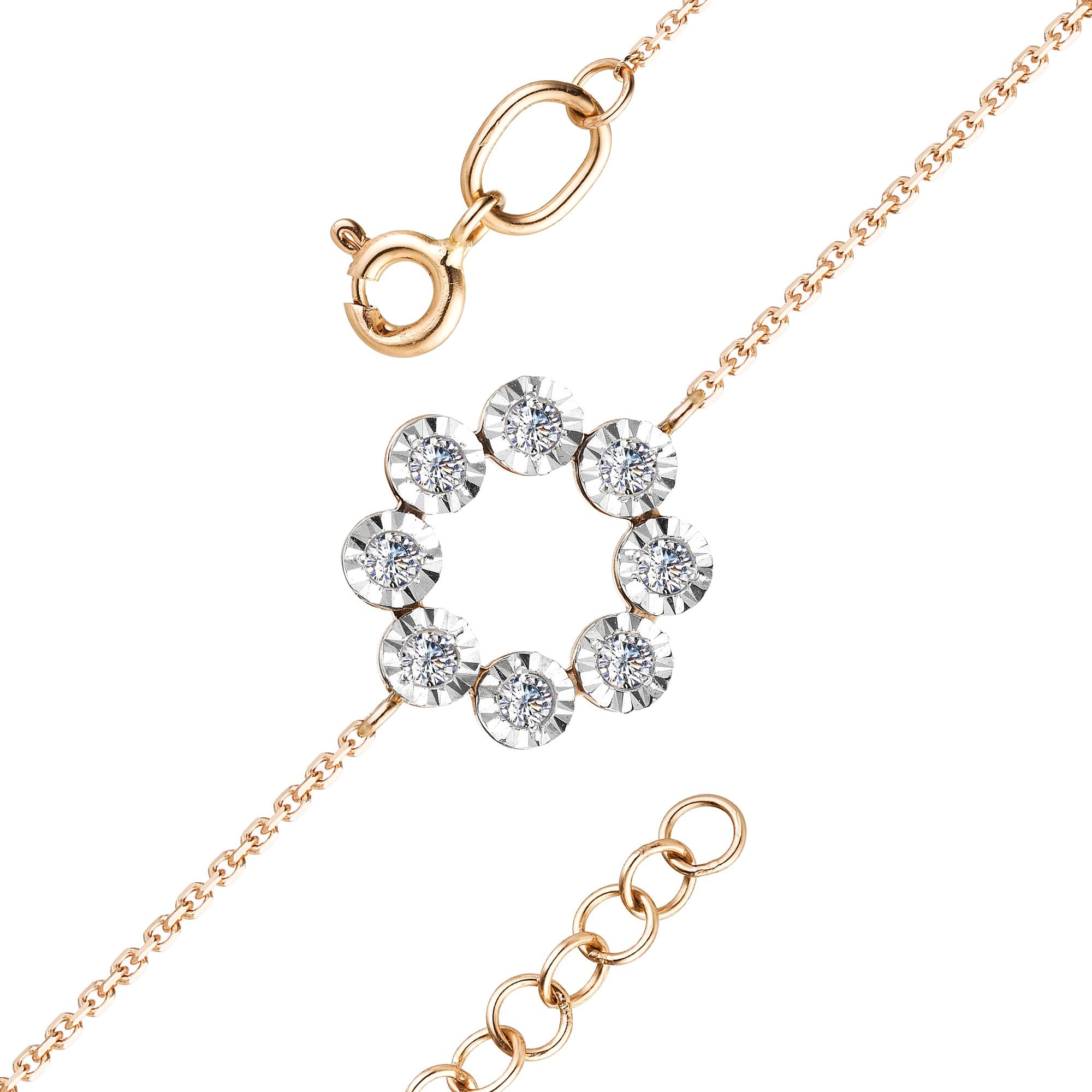 картинка браслет 53232-100 8 бриллиант круг 17 0,159 40-60 2/3а 53232-100