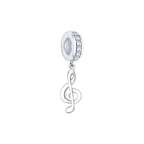 картинка подвеска-шарм «скрипичный ключ» 94031621