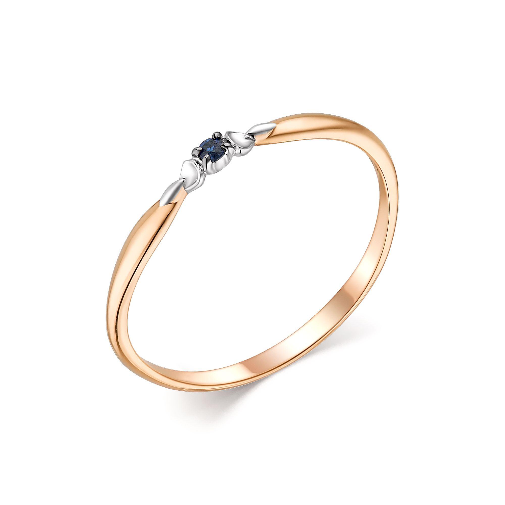 картинка кольцо 13802-102 1 сапфир  круг 0,018 1,5 2/2 13802-102