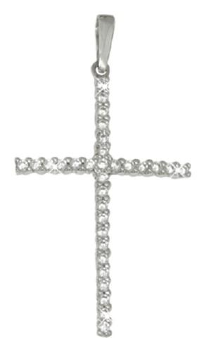 картинка подвеска из серебра 925° с фианитом 0800040-00775