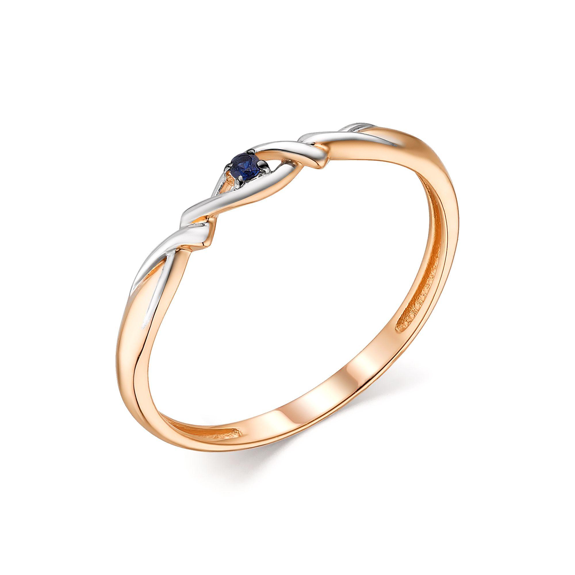 картинка кольцо 13804-102 1 сапфир  круг 0,018 1,5 2/2 13804-102