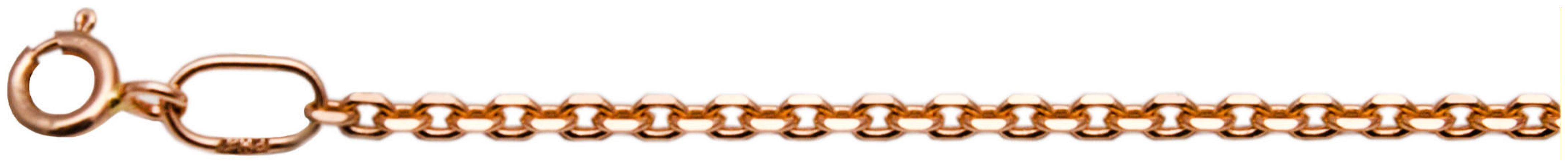 картинка цепь из золота 585° ЦЯ160СА4-А51