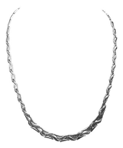 картинка колье из серебра 925° СТАК-72-500
