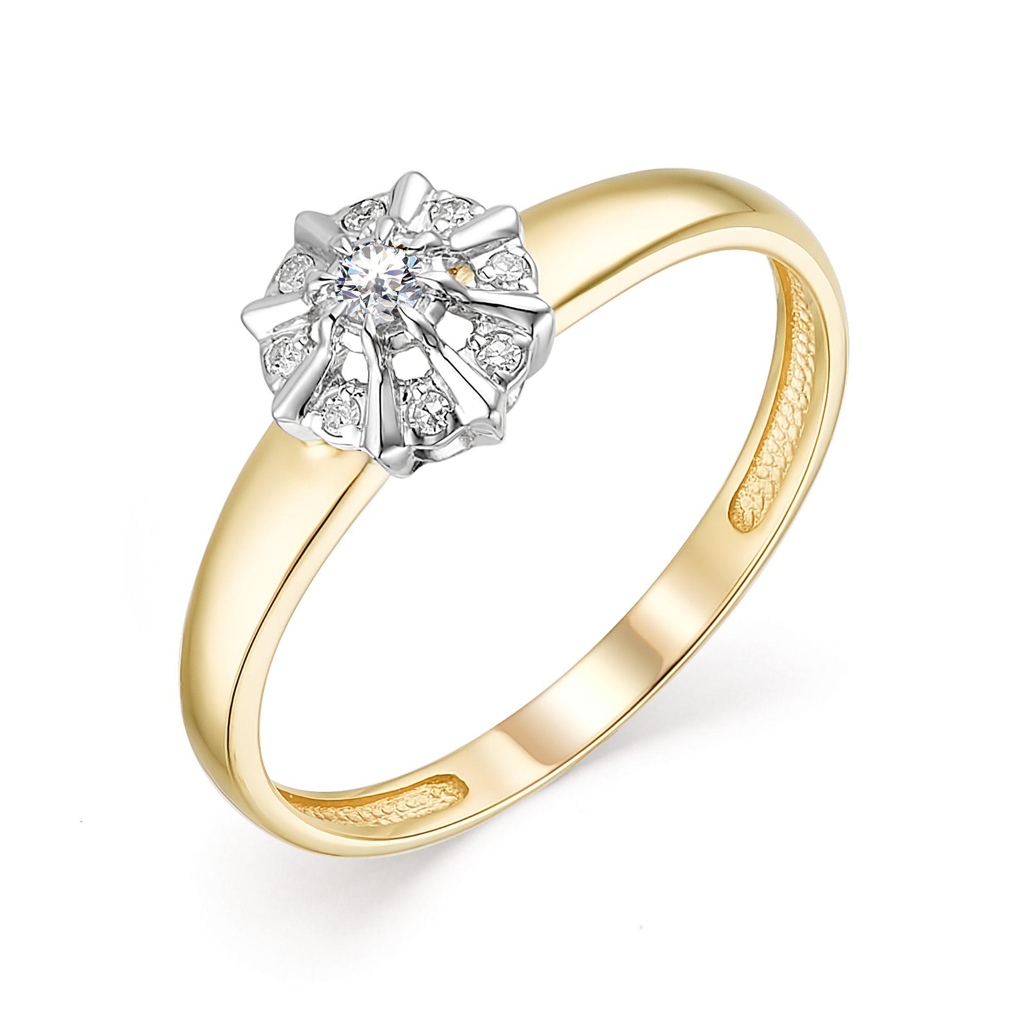 картинка кольцо 13608-300 1 бриллиант круг 57 0,037 25-30 3/6а, 8 бриллиант круг 17 0,037 200-400 2/3а 13608-300
