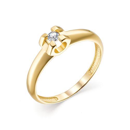 картинка кольцо 13473-300 1 бриллиант круг 57 0,070 15-20 3/6а 13473-300