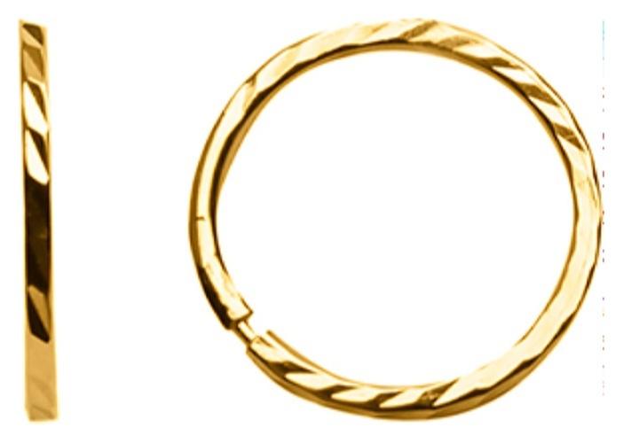 картинка серьги из золота 585° 20-463