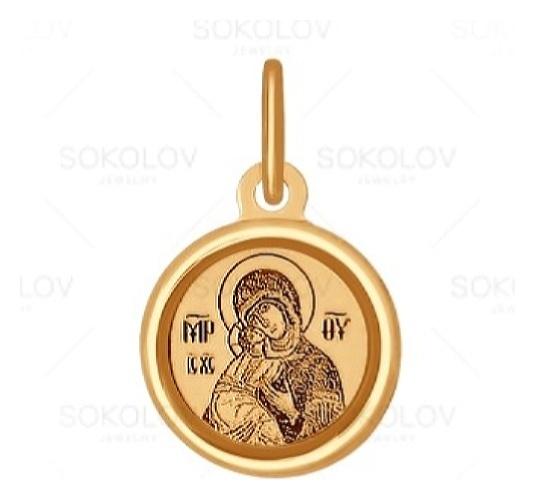 картинка подвеска из золота 585° 103993