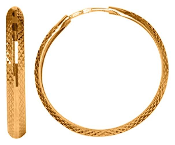 картинка серьги из золота 585° 20-447