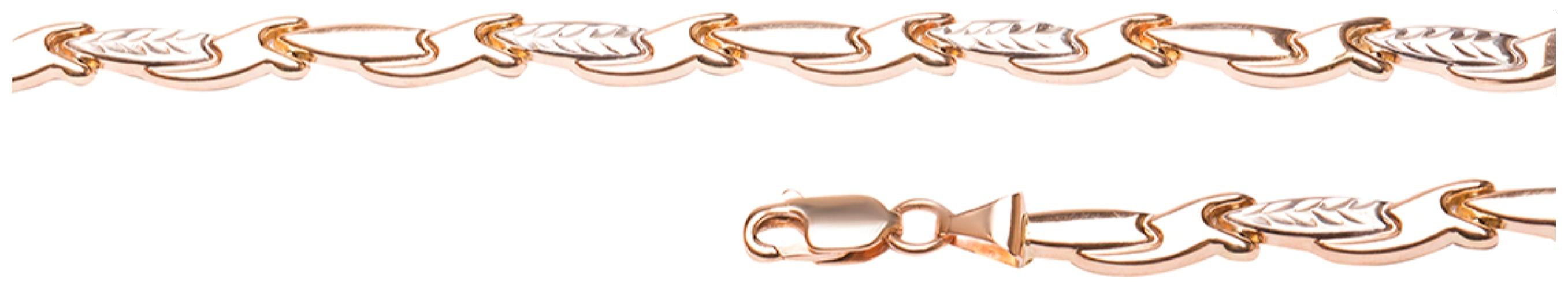 картинка браслет из золота 585° 0105511 А