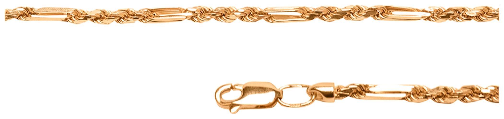 картинка цепь из золота 585° 31-01-0050-30203