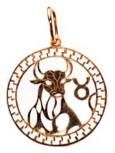 картинка подвеска из золота 585° 03-1839-1-02