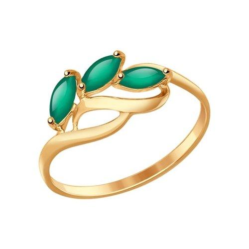 картинка кольцо из золота с агатами 714606
