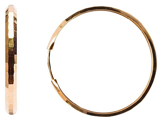 картинка серьги из золота 585° 20-451