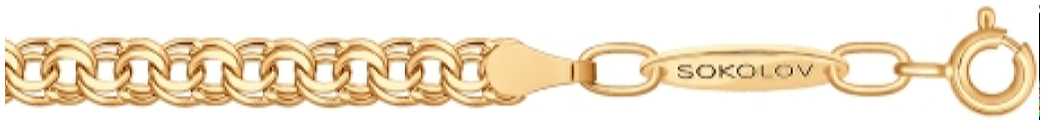 картинка цепь из золота 585° 2309060